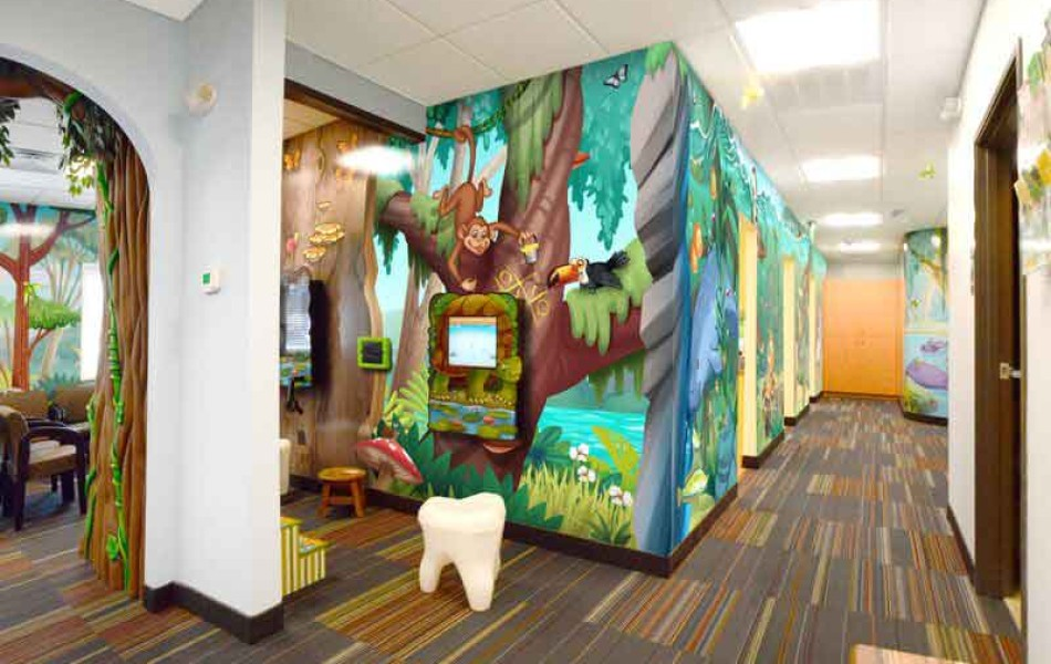 Newton-Sparta Pediatric Dentistry and Orthodontics - Waiting Room