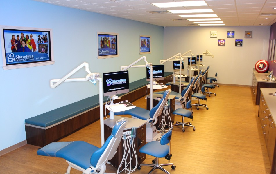 Showtime Orthodontic Arts - Operatory Area