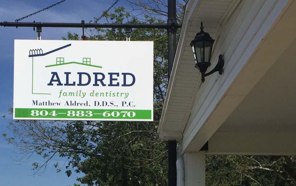 Aldred Family Dentistry - Sign